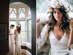 French Lace Gown von BeMyBride auf Etsy https://www.etsy.com/de/listing/210834679/french-lace-gown
