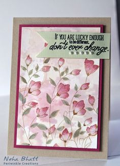 Periwinkle Creations: Softly - Penny Black