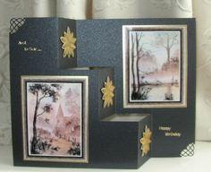 Three Steps Card by Sheila Weaver - Joanna Sheen