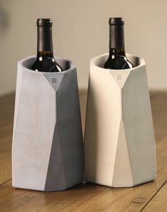 We'll toast the holidays in style with our Corvi Concrete Wine Cooler by IntoConcrete