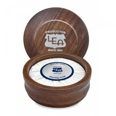 LEA Classic Shaving Soap in Wooden Bowl, Made in Spain