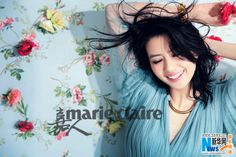 Gao YuanYuan for Marie Claire China