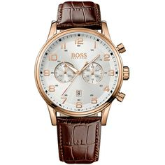 Hugo Boss Black Classic New Aeroliner Chrono Brown HB1512921