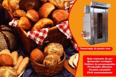 ¡El mejor pan sólo puede salir de los mejores hornos! Y en Tecnipan vaya que saben del tema.   Visiten su stand en Expo Pan 2015... ¡y mejoren su producción!