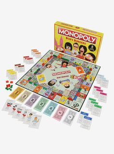 The family that plays together...// Bobs Burgers Edition Monopoly Board Game