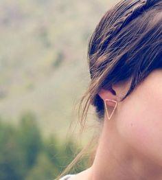 Idée et inspiration Bijoux :   Image   Description   Arrowhead Sterling Silver Earrings