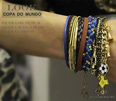 Let's Goool!!Torcida Fashion, vai Brasil! www.lojagracealmeida.com.br