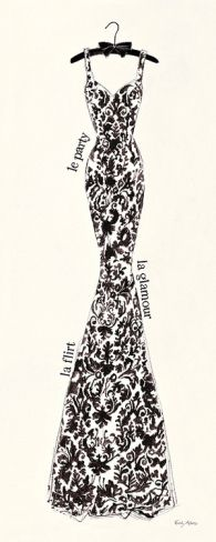 Couture Noir Original II by Emily Adams  Be Inspirational ❥ Mz. Manerz: Being well dressed is a beautiful form of confidence, happiness & politeness