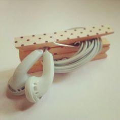 Kopfhörer-Aufbewahrung