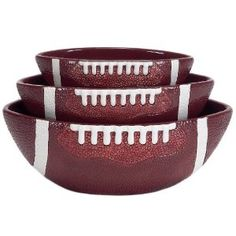 Football party bowls