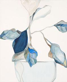 Emily Ferretti :: Blue Leaves