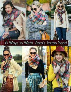 Xxl tartan scarf