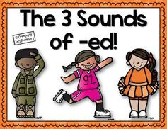 Display these pretty posters in your classroom to help your students remember the different sounds that -ed makes at the end of a word.I included 4 posters in case you say -id instead of -ed.I hope you enjoy this freebie!LoriIf you like what you see, please follow me:Teaching With Love and LaughterFacebookPinterest