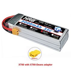 Gens Ace 5500mAh 45C 22.2V Lipo 6S Battery for RC Helicopter Boat Cars Align