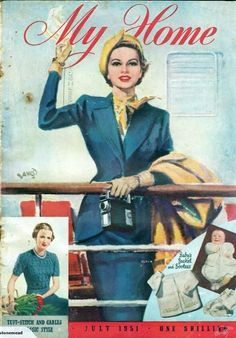 My Home magazine from July 1951
