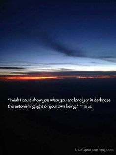 The light of your own being