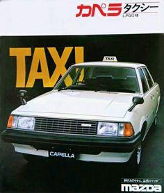 Mazda Capella, Japanese Domestic Market, Car Brochure, Car Advertising, Transporter, Japanese Cars, Car Car, Taxi, Old Cars