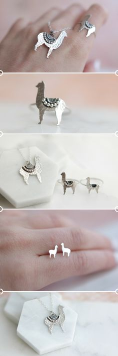 Handcrafted In Gold And Silver. Alpacas, Etsy Jewelry, Boho Jewelry, Llama Gifts, Cute Llama, Llama Alpaca, Fantasy Jewelry, Modern Boho, Inspirational Gifts
