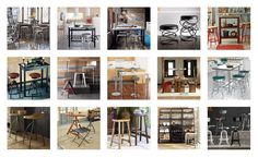 Stool It. Stool seating is here to stay. 1. Arhaus Furniture 2. Crate and Barrel 3. CB2 4. Horchow 5. West Elm 6. Home Decorators Collection 7. CB2 8. Room & Board 9. West Elm 10. Williams-Sonoma 11. Horchow 12. Wisteria 13. Pottery Barn 14. Crate and Barrel 15. Restoration Hardware