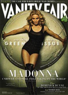 Vanity Fair's third annual Green Issue, Madonna