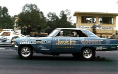 Very early Jungle Jim funny Car