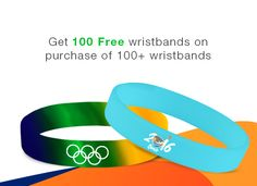 Custom silicone #wristbands to enhance the craze for #Rio2016