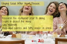 Heart Healthy tips for eating out from Go Red for Women