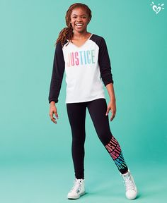 Justice Active collection for everyday sports stars.