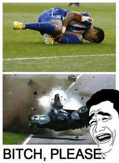 Football vs. Formula 1