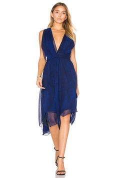 c871402a12a9f Haute Hippie Miles To Go Dress in Moon Stone Miles To Go