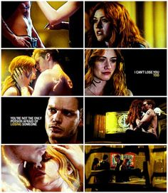 "#Shadowhunters 2x19 ""Hail and Farewell"" - Clary and Jace"