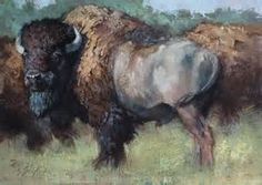 What are You Looking At - Jill Soukup Wildlife Paintings, Wildlife Art, Animal Paintings, Buffalo Painting, Buffalo Art, Southwest Art, Nature Prints, American Art, American Bison