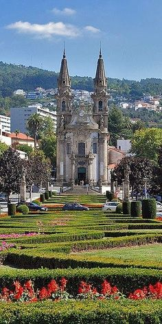 Guimaraes, Portugal - Explore the World with Travel Nerd Nici, one Country at… Portugal Travel, Spain And Portugal, Portugal Tourism, Algarve, Beautiful Buildings, Beautiful Places, Places To Travel, Places To See, Places Around The World