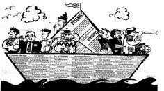 O barquinho de papel ilustrou um anúncio dos classificados do Estadão no dia 15 de novembro de 1986.  http://blogs.estadao.com.br/reclames-do-estadao/2010/09/30/barco-de-papel/