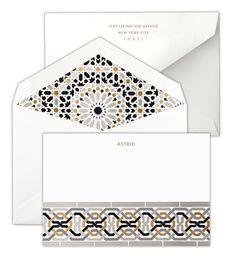Personalized Schumacher Nasrid Palace Mosaic: Darro Border