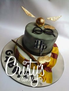 Cristy's Cakes: Harry Potter para Gabriel