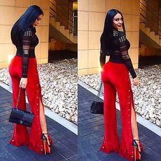 ❤️❤️❤️ CHERINE ❤️❤️❤️ @cherine.abou.el.ezz  beautiful in our RED VELVET version of the BUTTONED UP TROUSERS from @dollville ❤️❤️❤️❤️ #rubengalarreta #galarretagirl #sporty #luxury #fashion #fashionlove #style #stylist #stylish #women #woman #womenswear #womenstyle #womensfashion #red #velvet #doll #girl #hot #dope #queen #diva #thegypsyarmy #gypsyarmy #look #like #love #dream ❤️❤️❤️❤ ️www.rubengalarreta.com