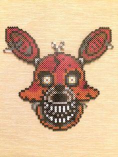 Cauchemar Foxy Perler Bead Sprite