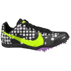 My track spikes :) and they are purple on the other side :) Nike
