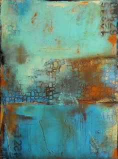 Deja Blue by ERIN ASHLEY in ABSTRACTS on ERIN ASHLEY's Gallery Store