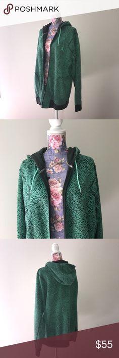 Green mint and black Air Jordan full zip jacket In great condition ! Size men's XXL. Air Jordan Jackets & Coats