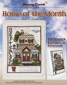 Everything Cross Stitch - Home Of The Month - September