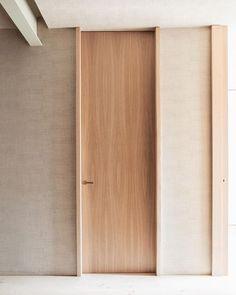 floor to ceiling doors. Home Interior, Interior And Exterior, Door Design, House Design, Architecture Design, Windows Architecture, Internal Doors, Wood Doors, Windows And Doors