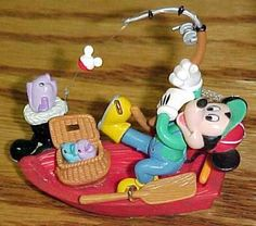 Disney's Mickey Mouse Fishing Ornament Enesco Mickey Co. | What's ...