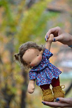 PDF Pattern - Lali Cupcake Doll #doll #pattern #3waldorf #diy #ad #etsy #oybpinners