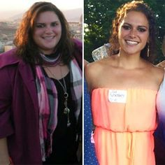Before and after, I feel GREAT!