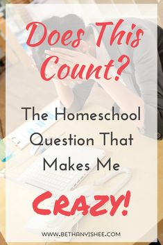 Does this count? The homeschool questions that makes me crazy!