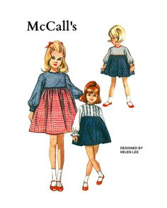 Vintage 1960s McCalls 8023 Designed By Helen by pinkpolkadotbutton, $15.00