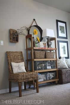 Using Wicker Furniture Indoors | Wicker furniture, Country chic ...