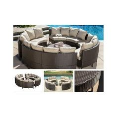Round-Sectional-Sofa-Outdoor-Patio-Furniture-Curved-Set-Lounge-Couch-Wicker-Seat